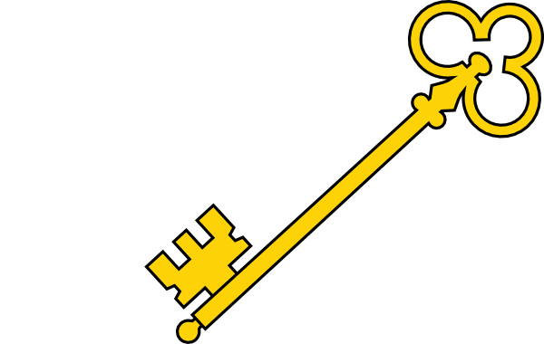 600x380 Olde Key Clip Art