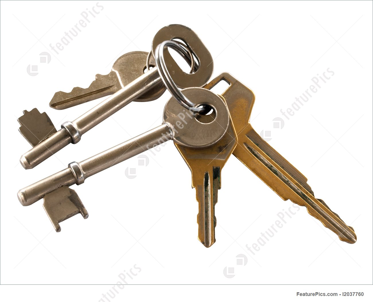1300x1052 Safety And Security Set Of Different Keys On A Ring