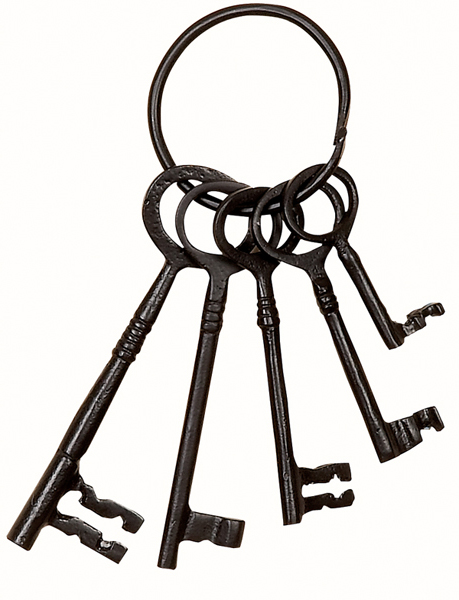 459x600 Skeleton Keys Clipart