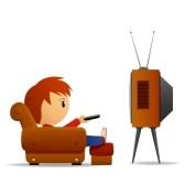 168x168 Tv Remote Cartoon Clipart Panda