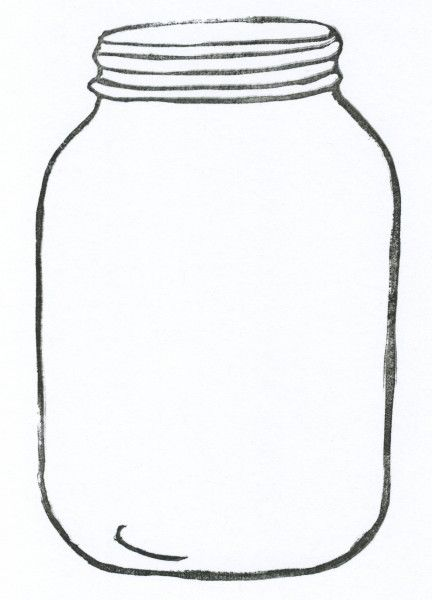 432x600 Mason Jar Clipart Money Jar