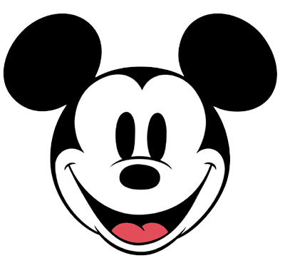 Mickey mouse face. Pictures of free download