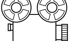 280x168 Movie Reel Clipart Border Clipart Panda