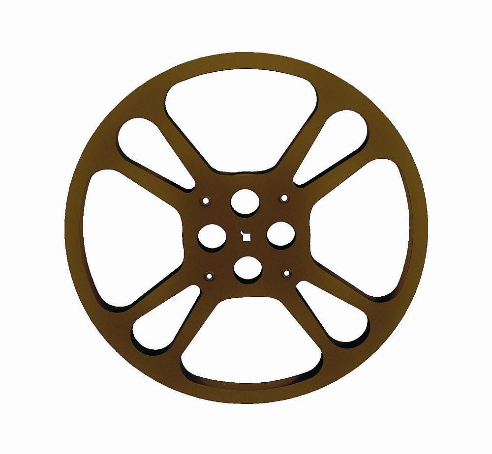 1000x924 Movie Theater Steel Teardrop Reel
