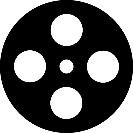 512x512 Reel, Film Reel, Movie, Film Icon