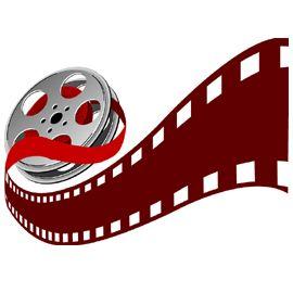 270x270 Color Movie Reel Clipart