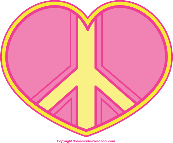 571x471 Free Peace Sign Clipart