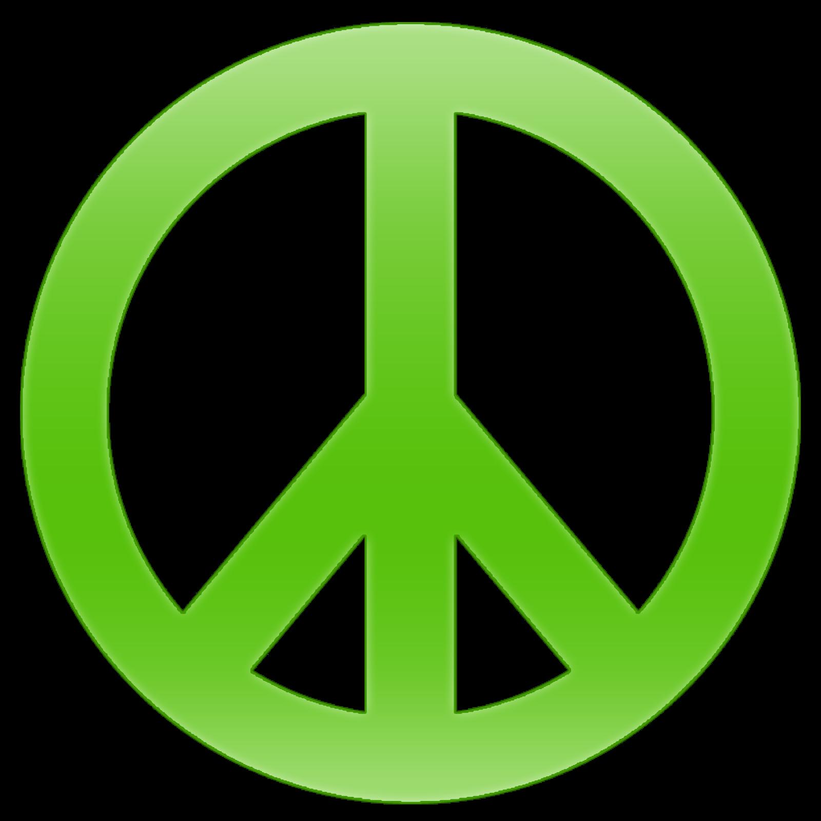 1600x1600 Peace Sign Clipart Transparent