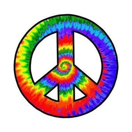 460x460 Peace Sign Clipart Tye Dye