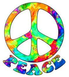 236x261 Tie Dye Peace Sign Clip Art