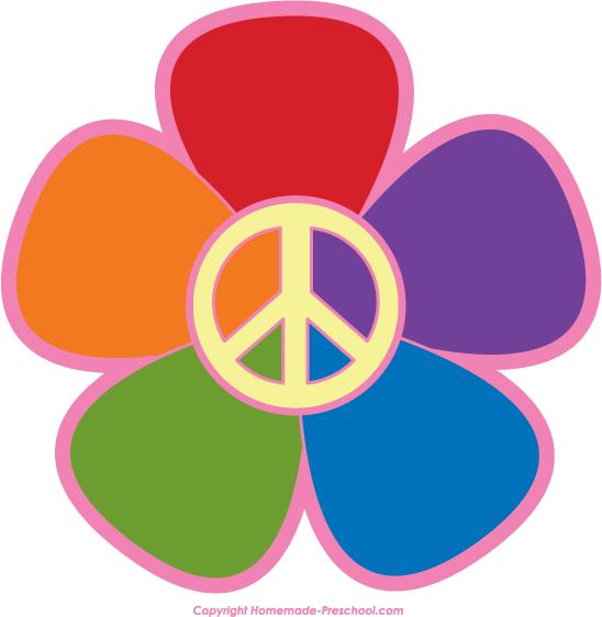 548x562 Peace Signs Clip Art