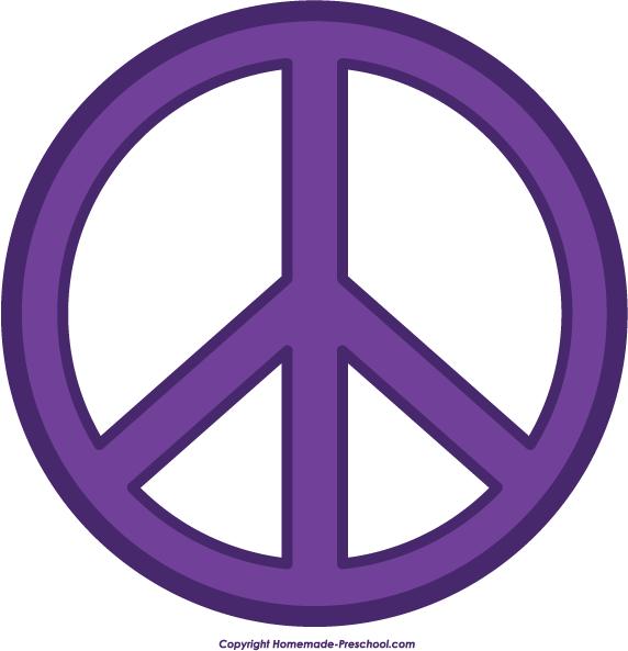 572x593 Peace Signs Clip Art