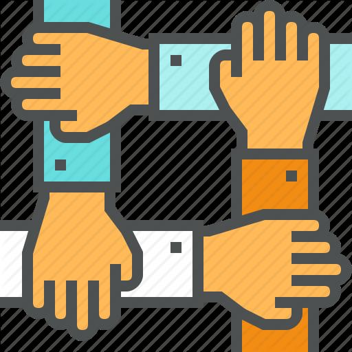 512x512 Business, Corporate, Hands, Management, People, Success, Team
