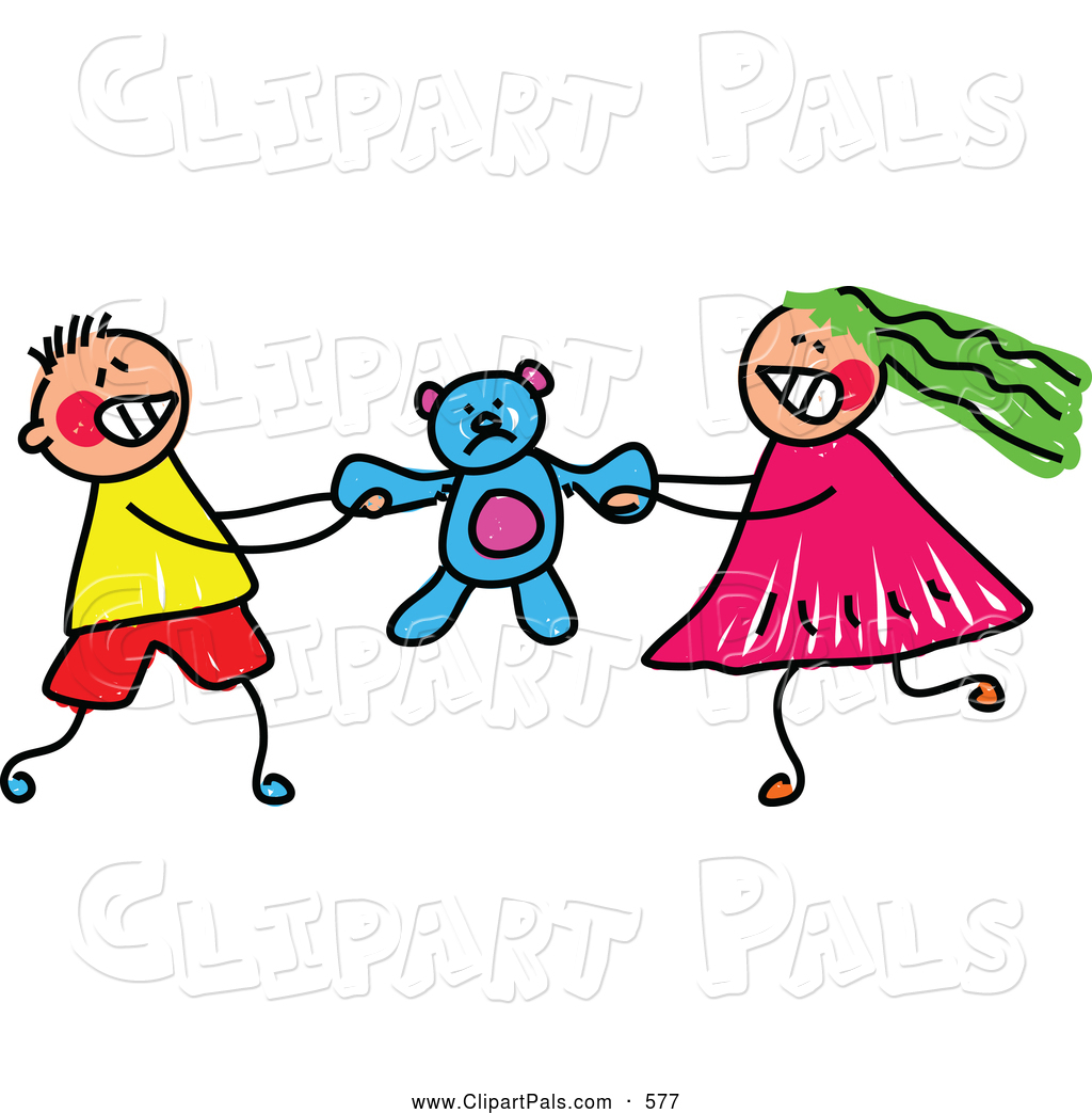 1024x1044 Fighting Friends Clipart