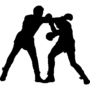 300x300 People Fighting Clipart