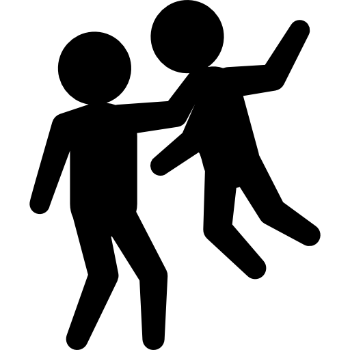 512x512 People, Person, Criminals, Silhouette, Fighting, Criminal, Persons