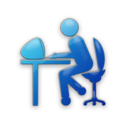 420x420 Working Person (Persons) Icon