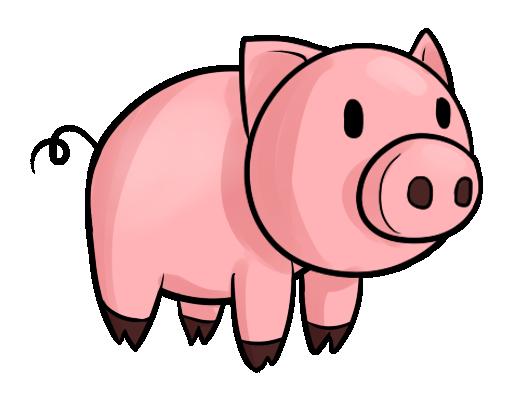 514x393 Pig Clipart