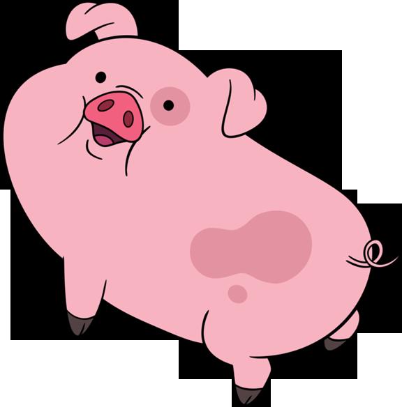 576x584 Pig Clipart Transparent