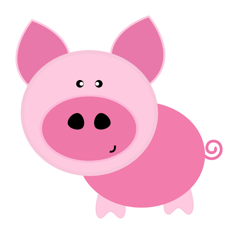 800x787 Pig Free To Use Clip Art