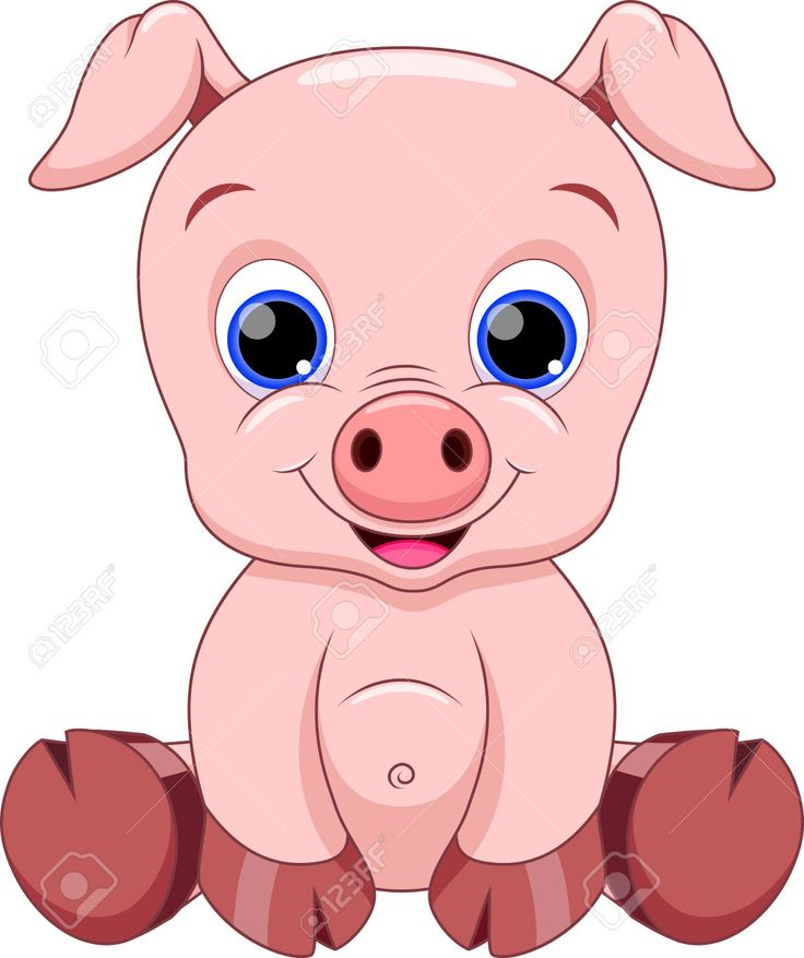 736x877 Mommy Clipart Baby Pig