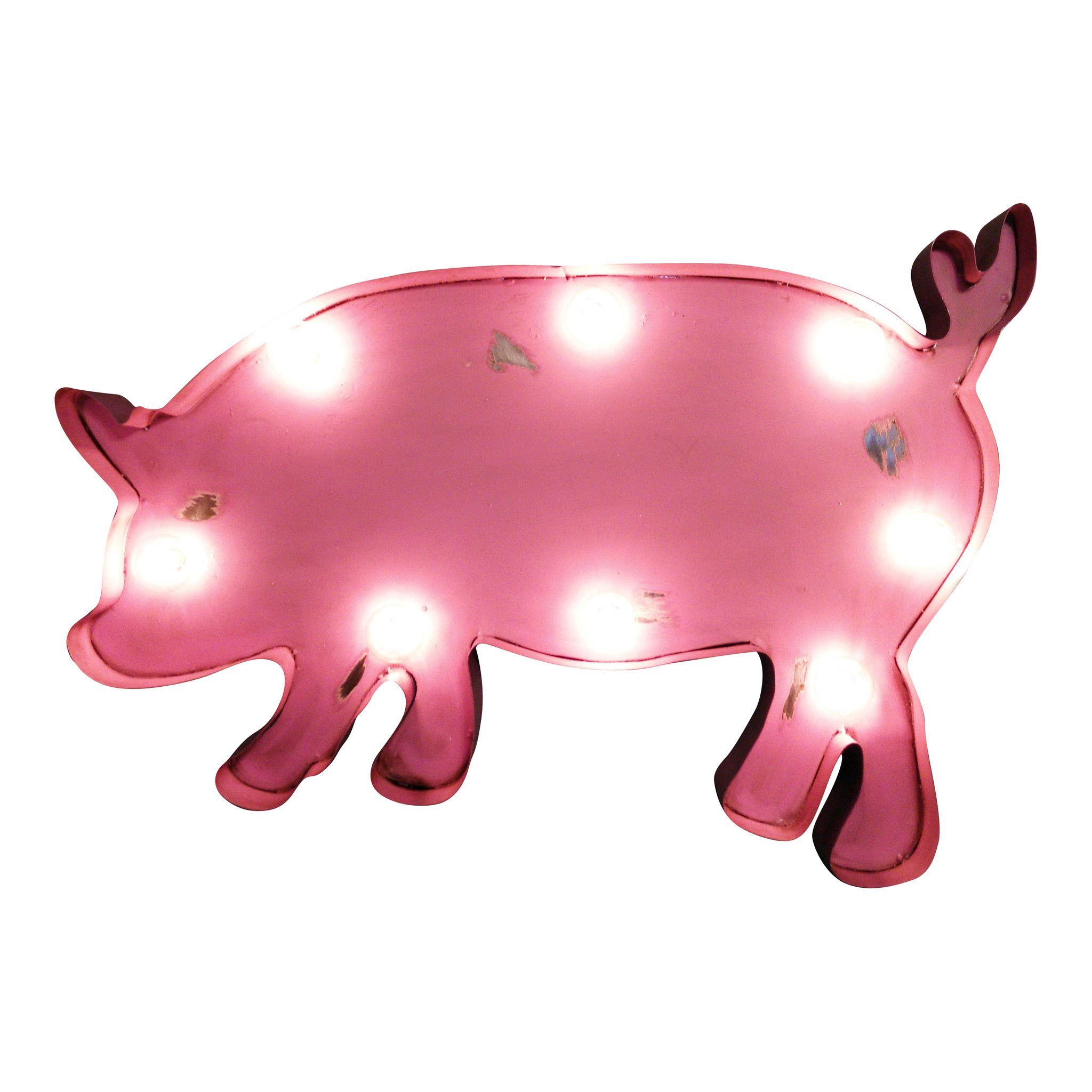 2048x2048 Pig Symbol Marquee Light From The Rusty Marquee { Marquee