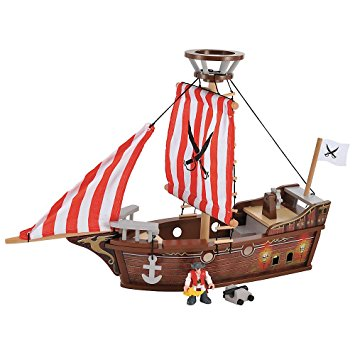 355x355 Elc Wooden Pirate Ship Amazon.co.uk Baby