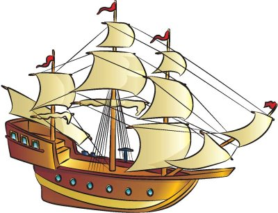 400x306 How To Draw Pirate Ships In 9 Steps Howstuffworks
