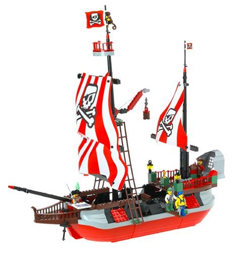 465x500 7075 Captain Redbeard's Pirate Ship