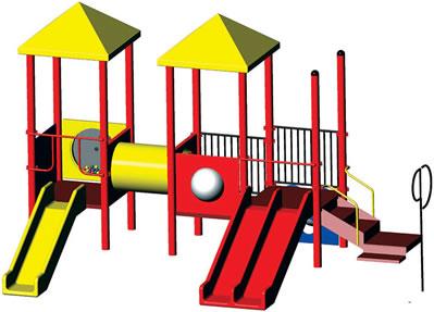 399x287 Play Structure Bobbie
