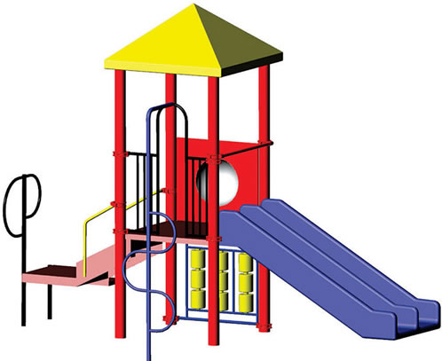 498x407 Play Structure Minnie