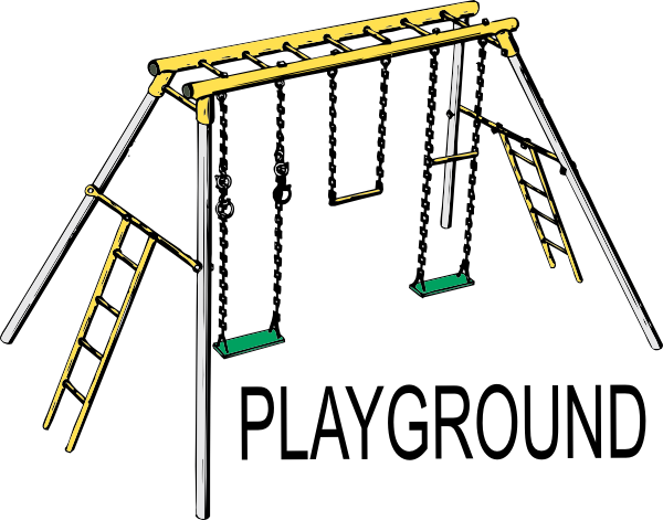 600x471 Playground Clip Art