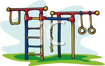 350x222 Playground Clipart Climbing Equipment