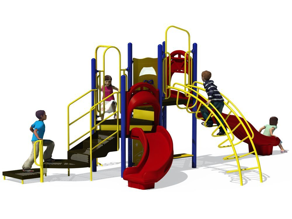 1000x750 Single Playground Equipment Clipart Kid