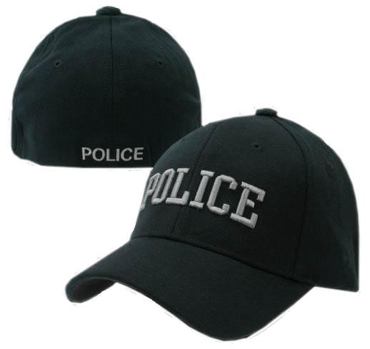 518x489 Police Flex Fit Cap