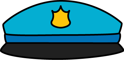 396x193 Police Hat Clip Art