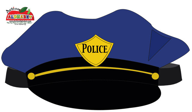 640x373 Police Hat Clipart