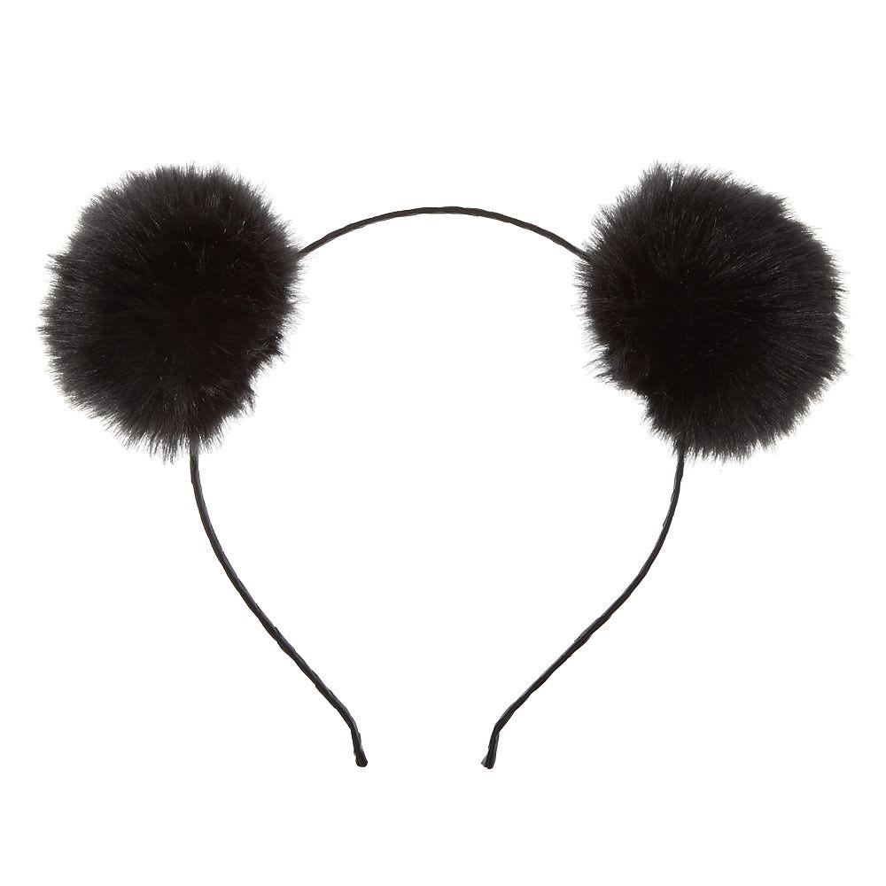 1000x1000 Black Pom Poms Headband Icing Us