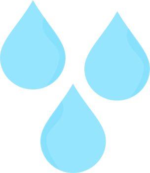304x350 Rain Drops Clipart