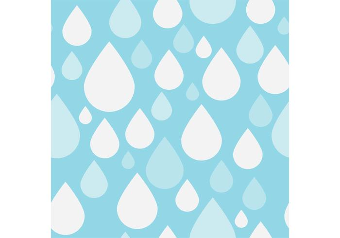 700x490 Vector Of Simple Rain Drops