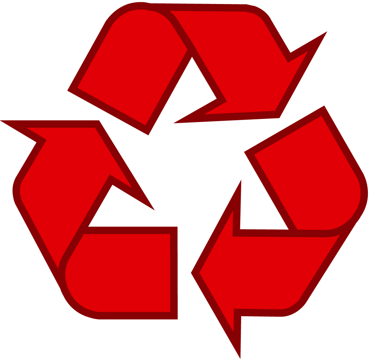 1200x1171 Download Recycling Symbol