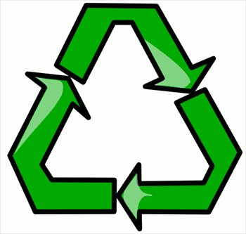 350x333 Free Recycle Clipart