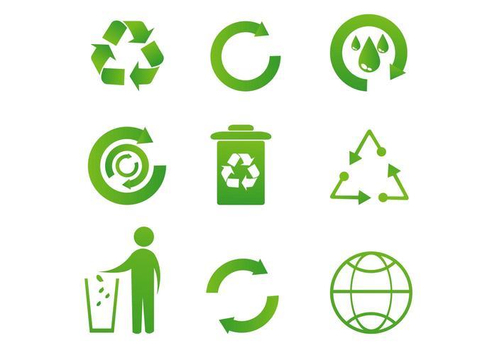 700x490 Free Recycle Icon Vectors