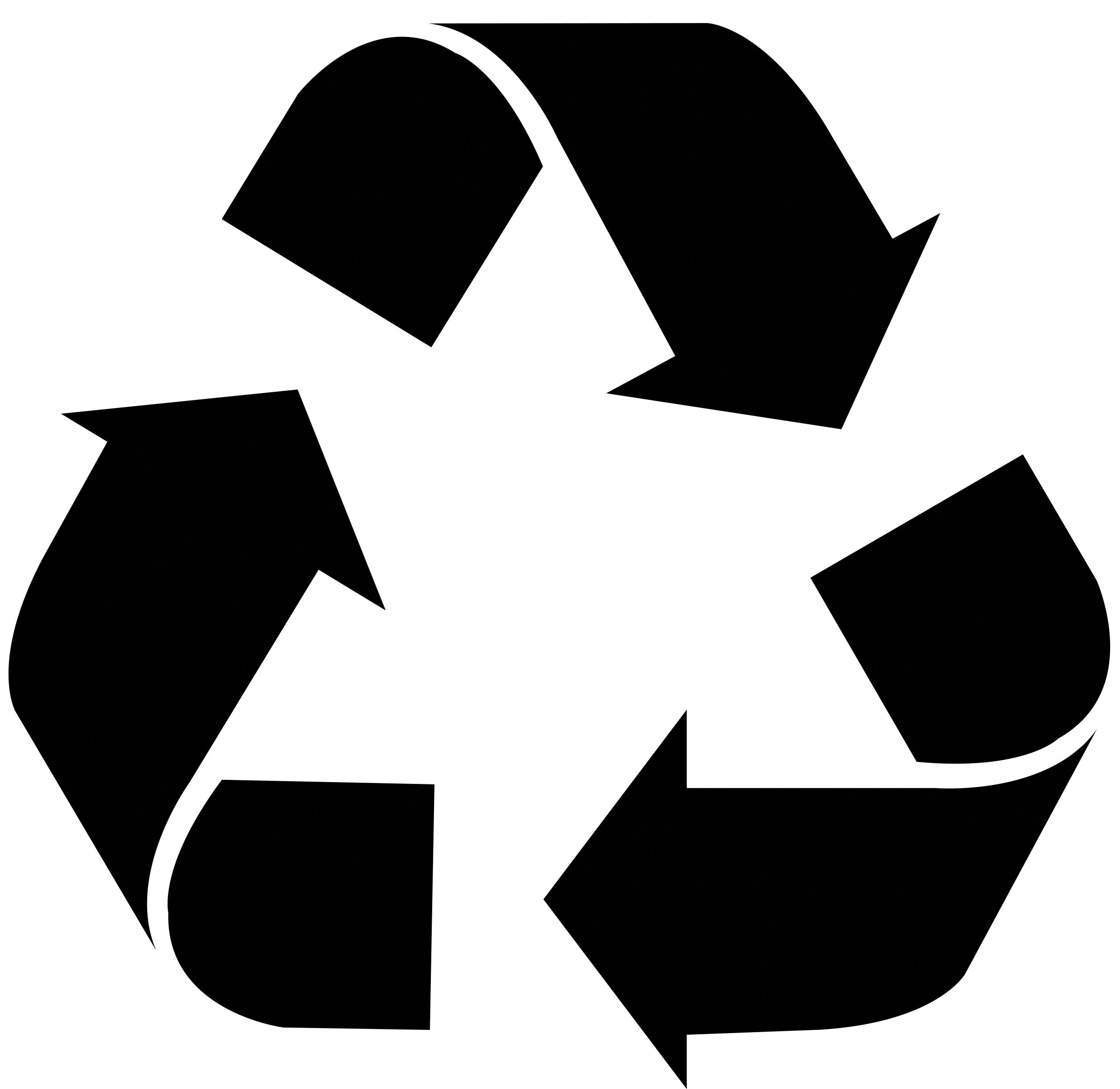 2480x2413 Recycle Symbol Cliparts
