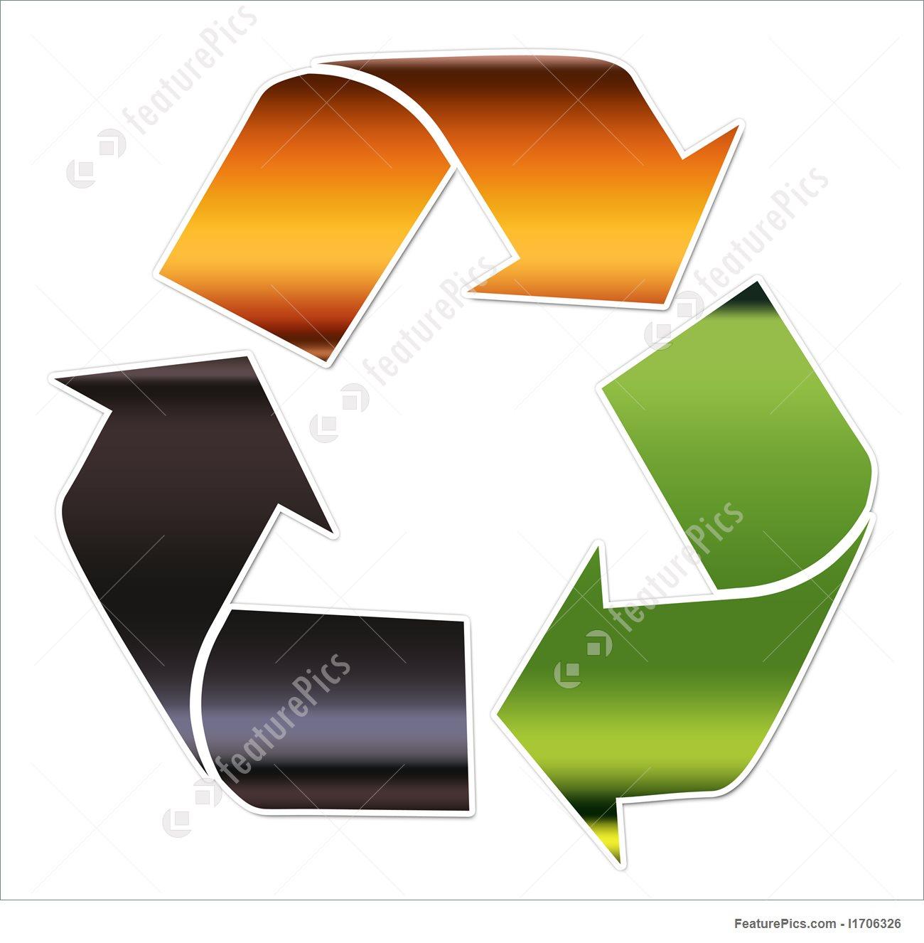 1300x1326 Recycling Symbol, Glass Illustration
