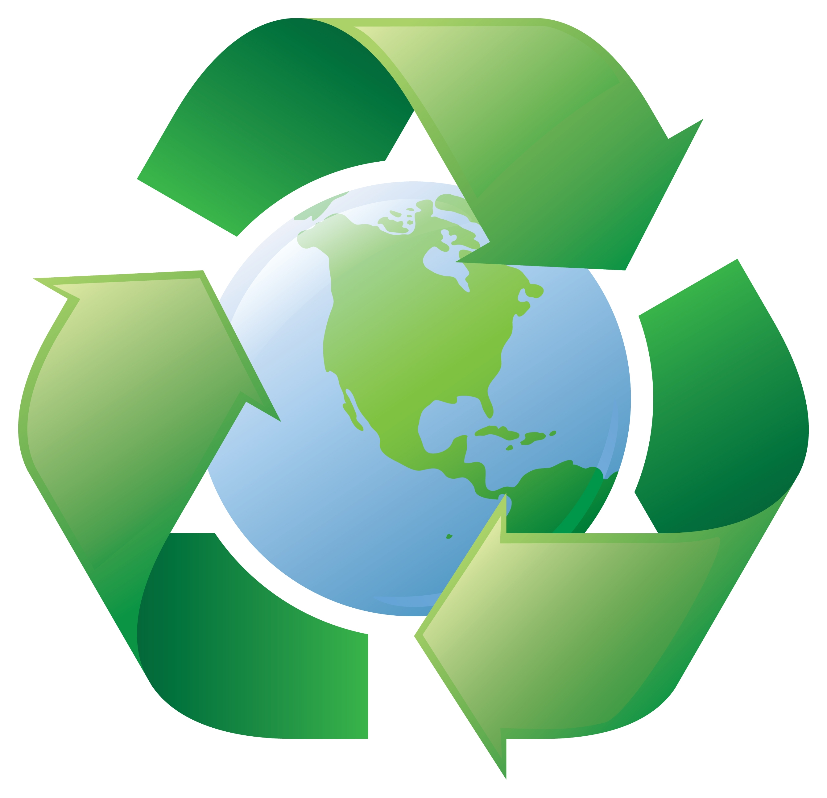 2681x2587 We Recycle Clip Art