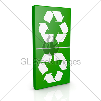 325x325 Aluminum Can With Recycling Symbol Gl Stock Images