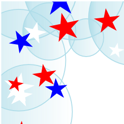 250x250 Stars Clipart Red And Blue