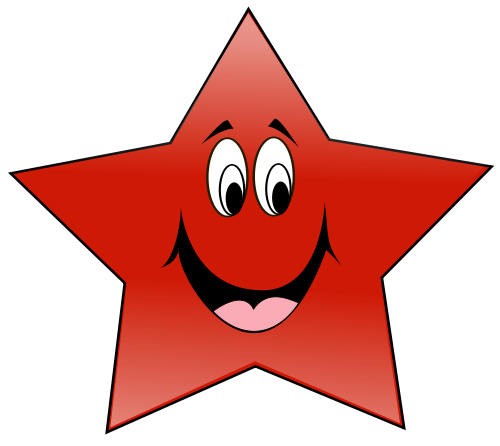 500x446 Happy Star Red Images