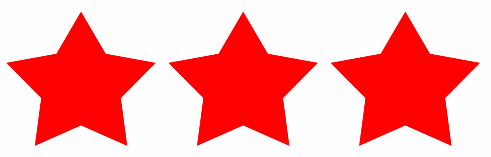 1000x321 Red Star Clipart Cliparts